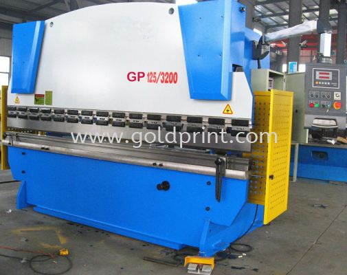 Metal sheets Shearing and Bending machine