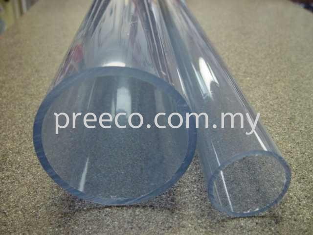 Transparent Pvc Pipe Sch40 Pvc Polyvinyl Chloride