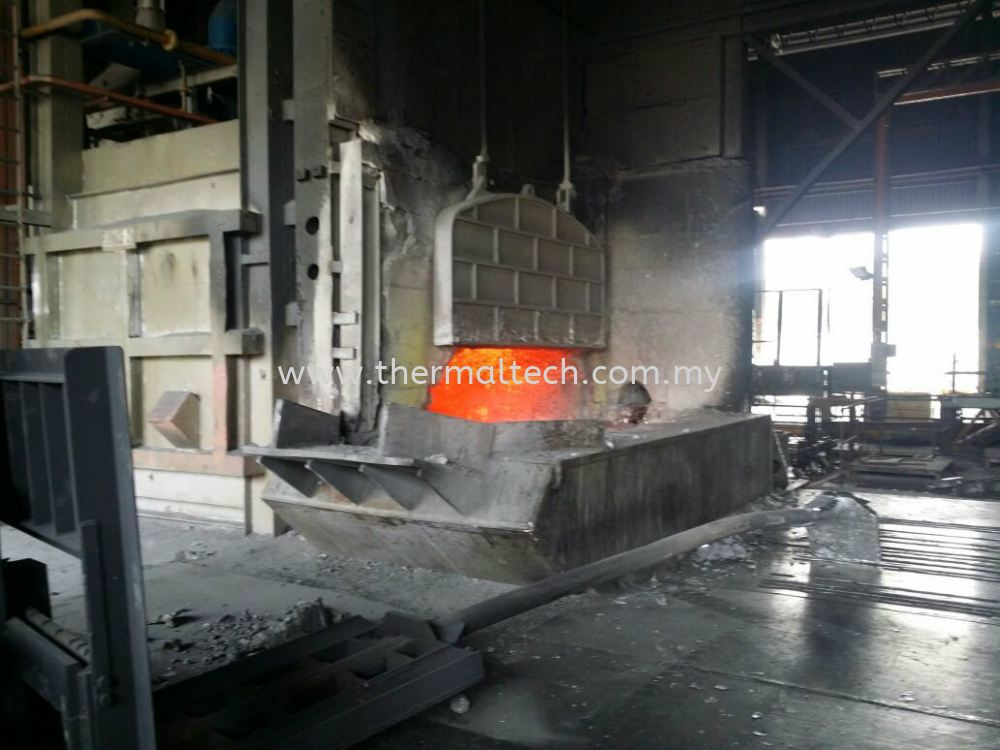Refractory installation service selangor furnace oven for E bathroom solution sdn bhd