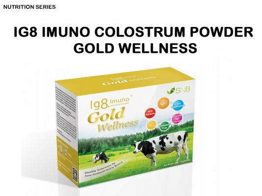 Ig8 Imuno Colostrum Powder Gold Wellnes (4 boxes + 2 boxes)