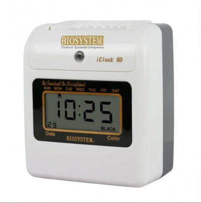 BIOSYSTEM Electronic Time Recorder (I CLOCK 6D Digital)