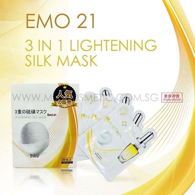 3 in 1 lightening silkmask brightening & hydrating series odm