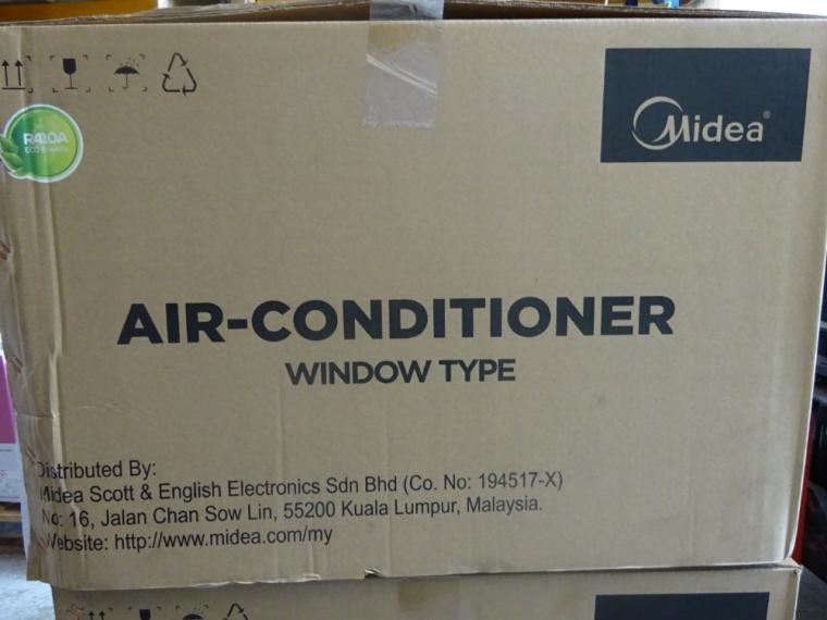 Midea window air conditioner unit midea air conditioner for Window unit air conditioner malaysia