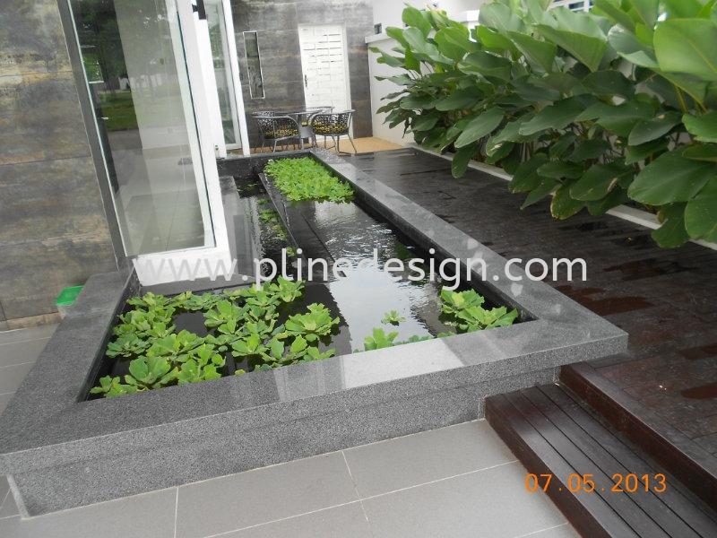 Fish pond design jb johor bahru design renovation other for Koi pond johor bahru