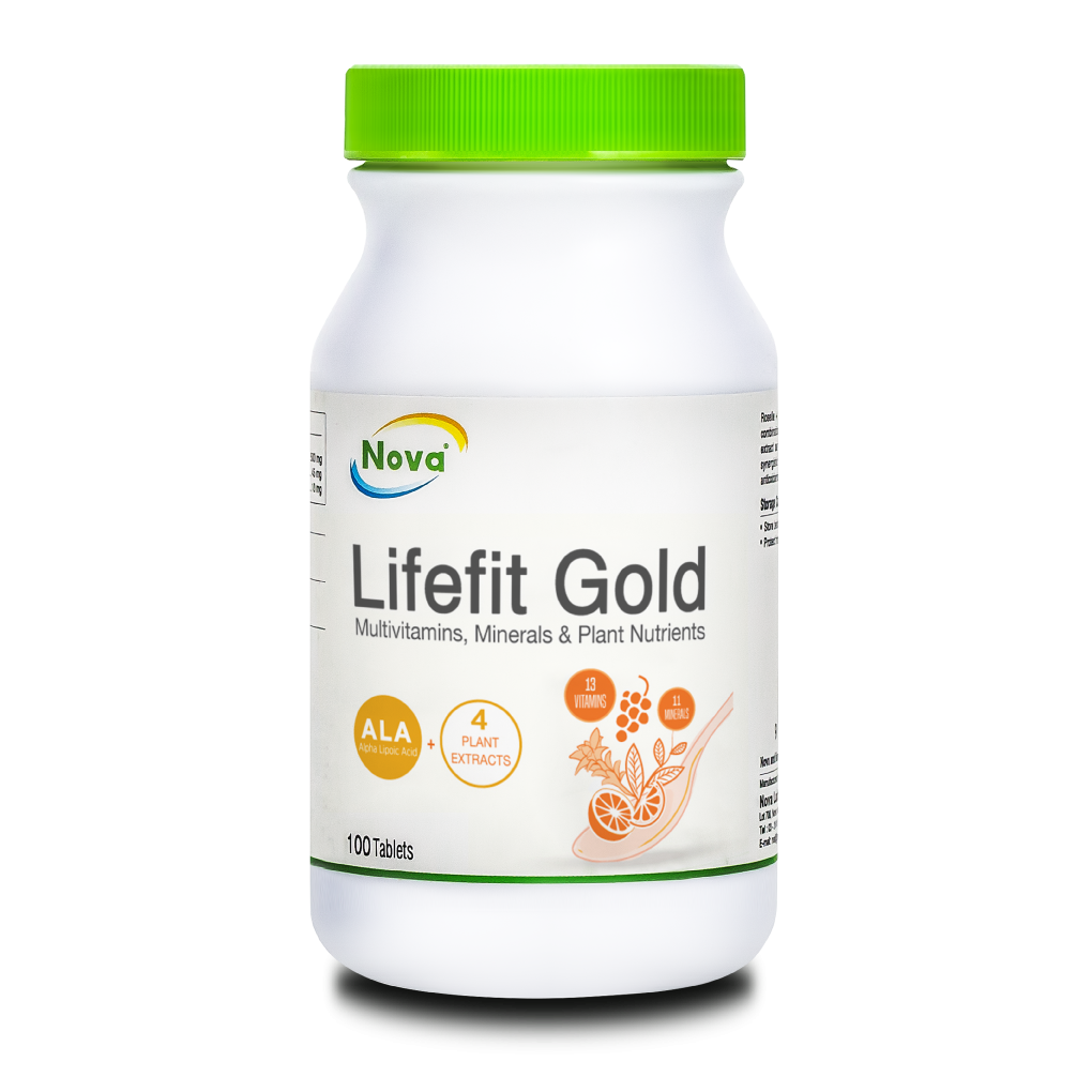 Nova LifeFit Gold Tablet