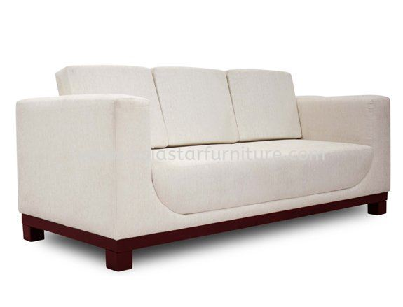 ALEXIS THREE SEATER SOFA C/E EPOXY METAL BASE ACL 9933-3