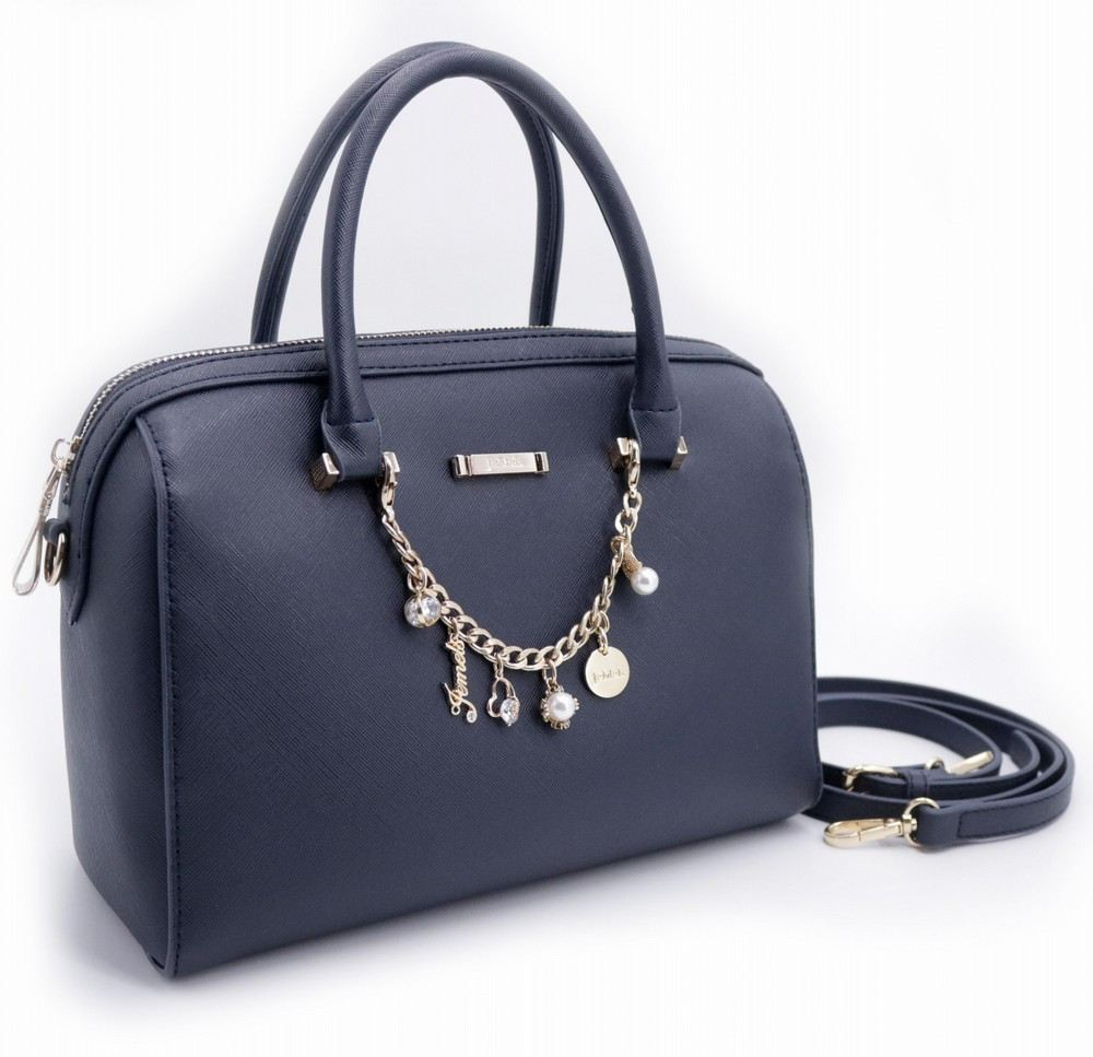 JEMELS ALESSIA SPEEDY BAG - NAVY