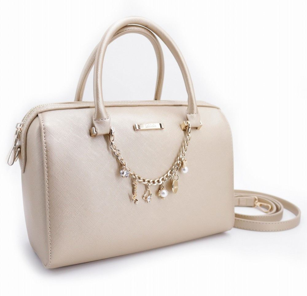 JEMELS ALESSIA SPEEDY BAG - MATT GOLD