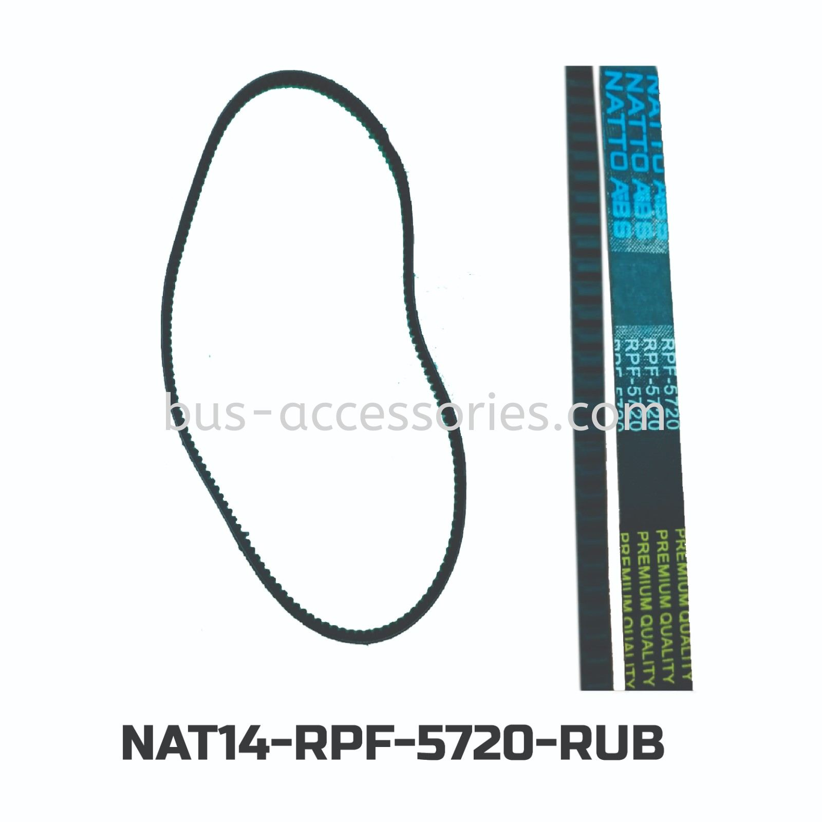 BELTING RPF-5720(NATTO ABS) FAN BELT