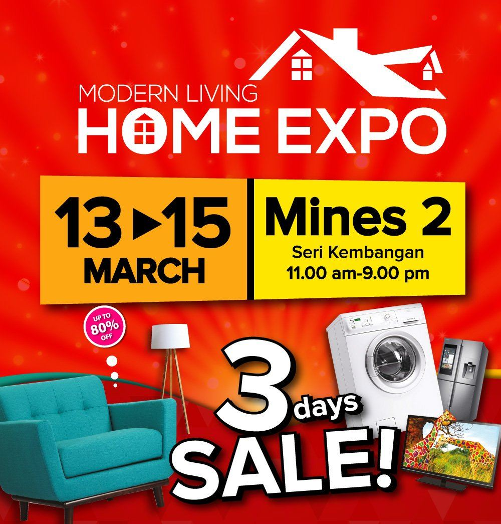 Modern Living Home Expo @Mines 2, 13 - 15 March 2020