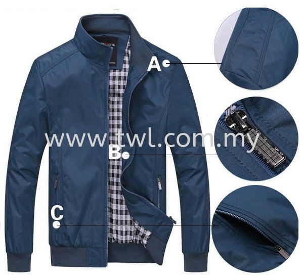 Custom Made Jacket / Tracksuit / Windbreaker / Hoodie / Sport Jacket