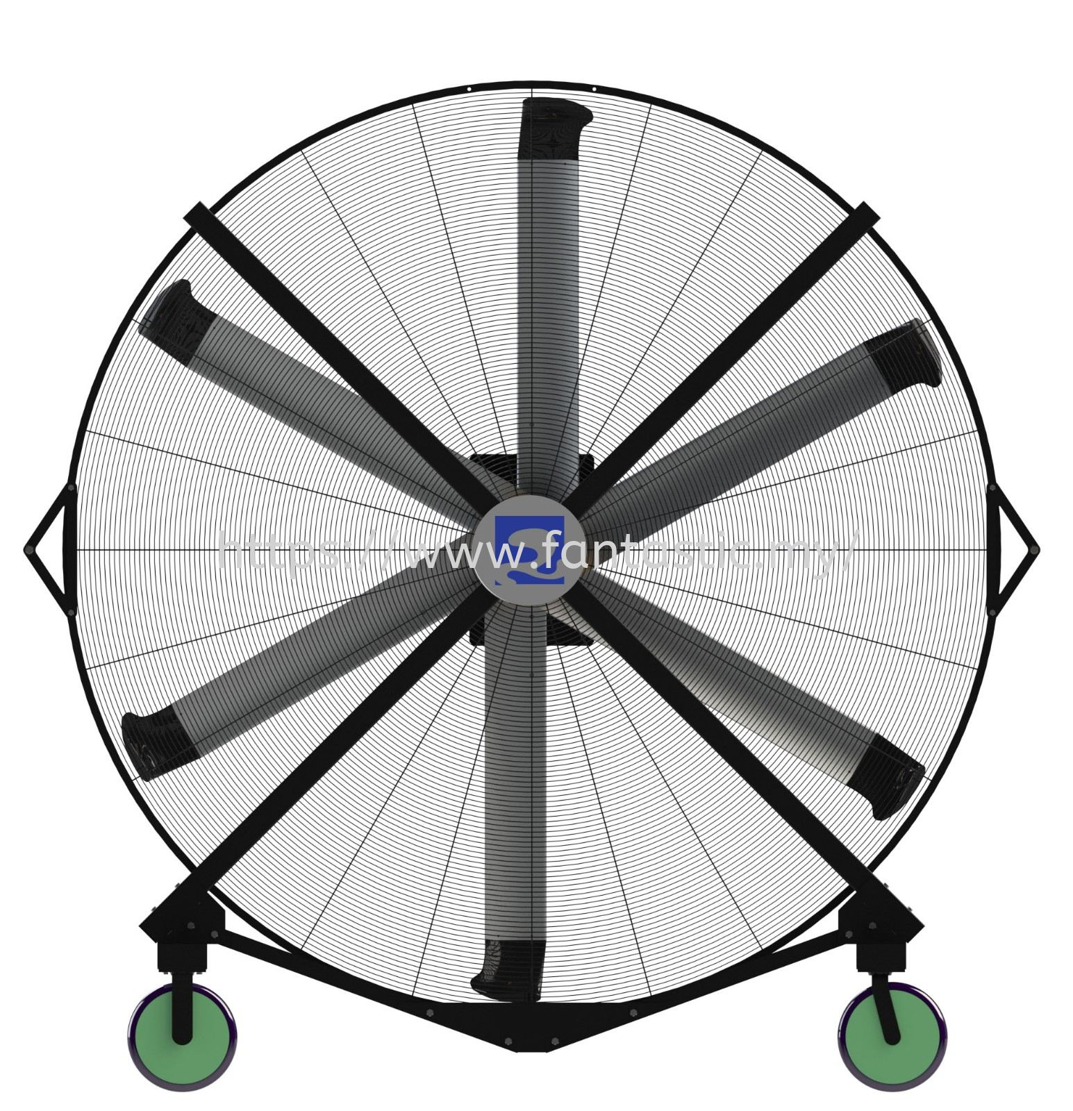 MOBILE LARGE INDUSTRIAL FAN