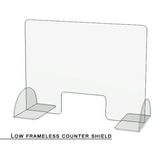 Acrylic Counter Shield