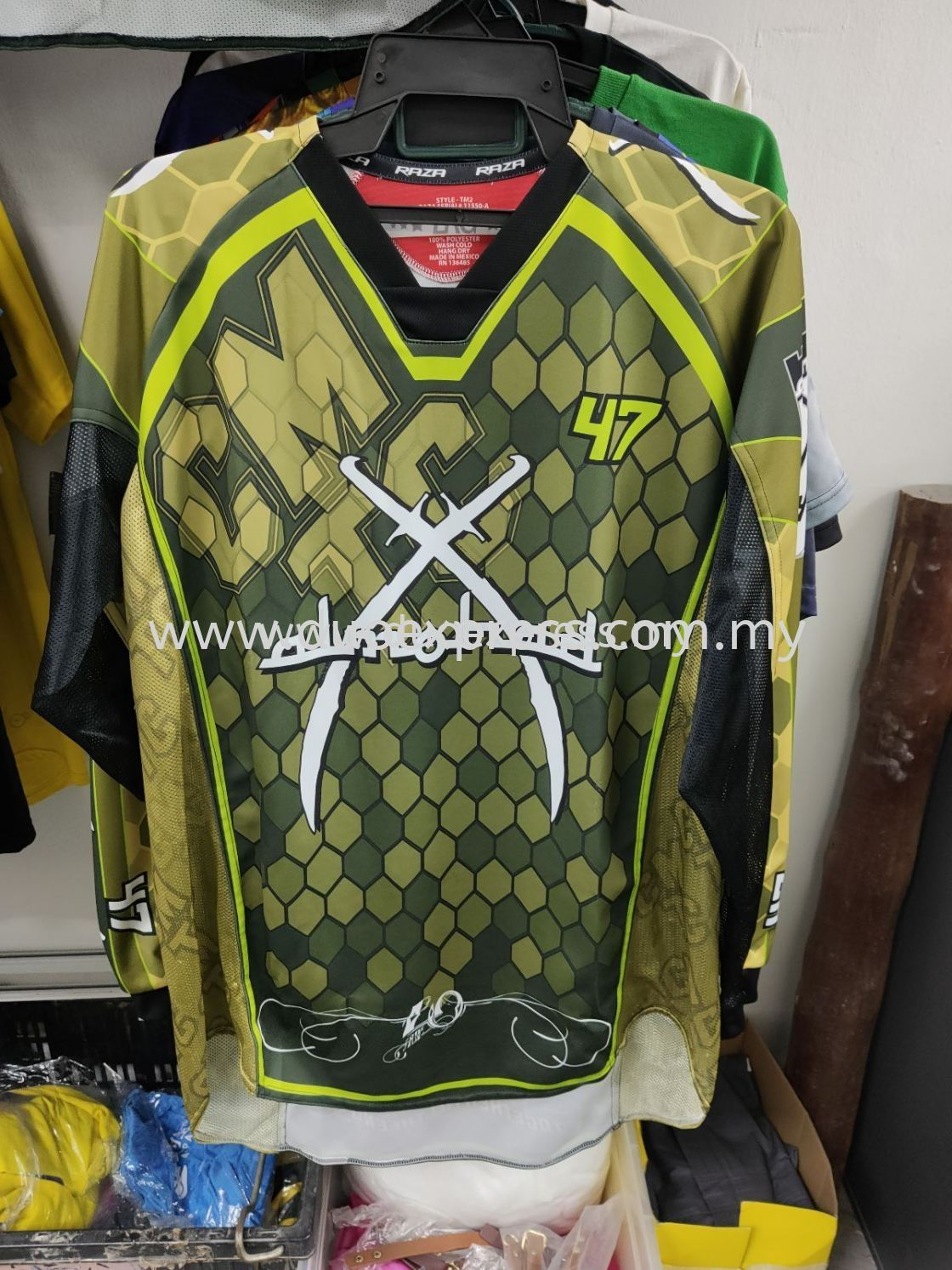 Paintball Jersey - Full Sublimation & Digital Printing