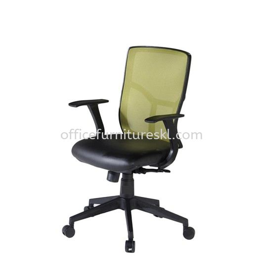 ECHO MEDIUM BACK ERGONOMIC MESH CHAIR C/W NYLON ROCKET BASE