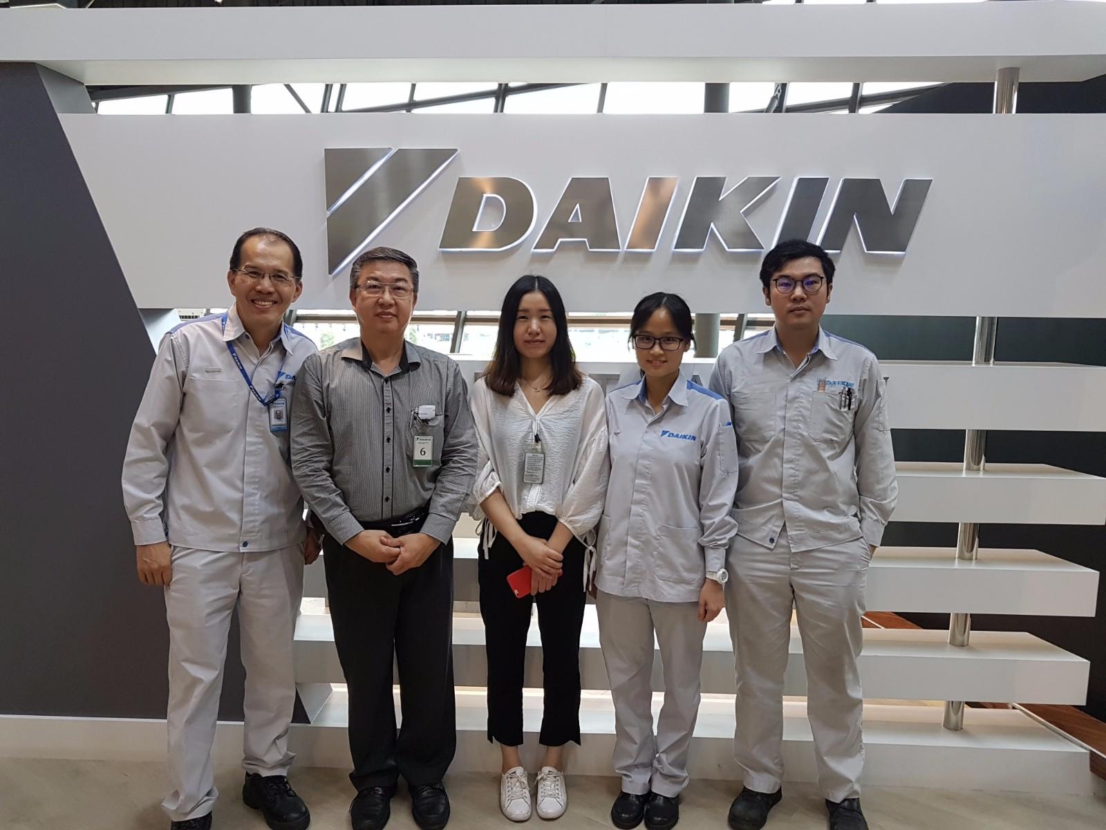 Daikin Malaysia Sdn. Bhd. Factory Visit On 20-9-2017