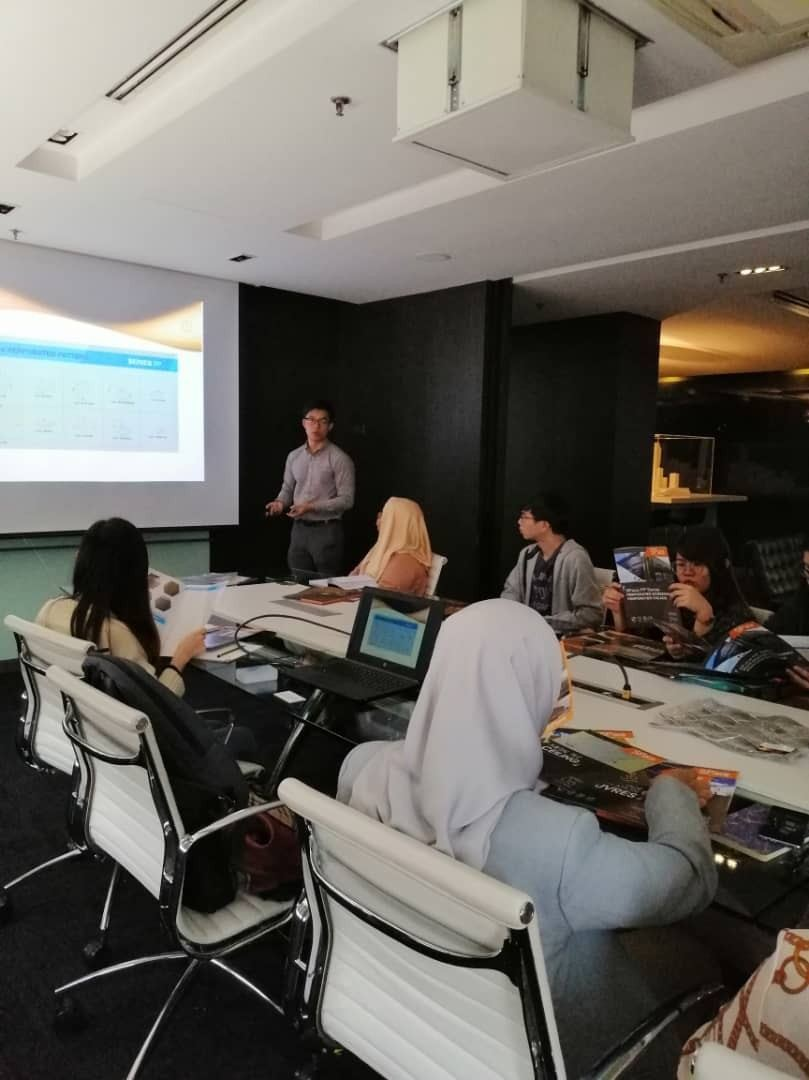 Product Presentation with DP Architects Sdn Bhd - 16 Jan 2020