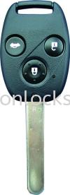 Honda 3B Remote Key