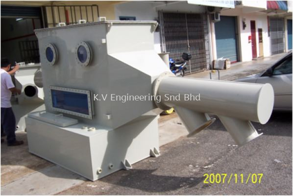 PP Scrubber C/W Duct