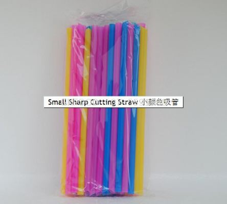 Small Sharp Cutting Straw
