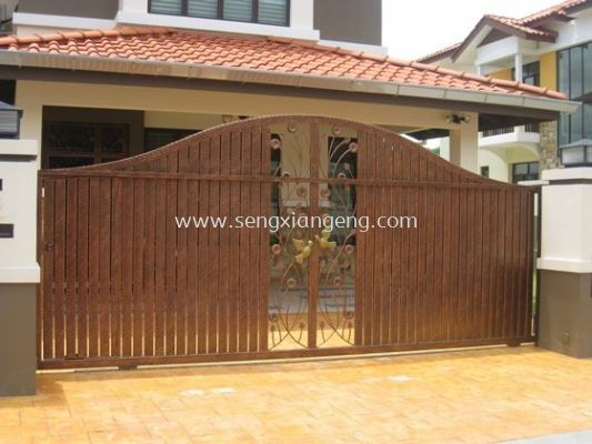 Stainless Steel Sliding Main Gate