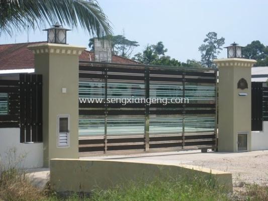 Stainless Steel Sliding Main Gate