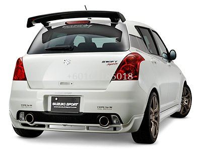 SUZUKI SWIFT MONSTER CARBON SPOILER
