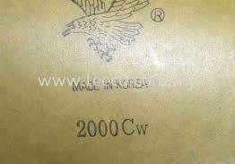 Eagle Sandpaper