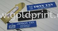 Badges Engraving(VIDEO) Samples Rubber Stamp, Seal n Signcarft Machine
