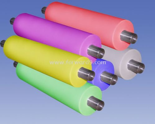 Silicone Roller Recoating