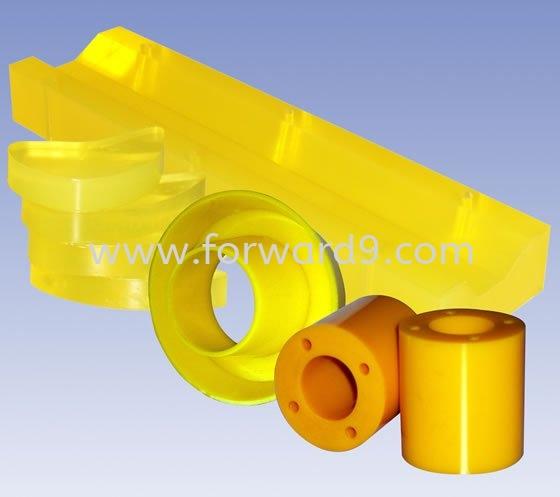 Polyurethane (PU) Bushing  Bushing  Polyurethane ( PU )  Polymer ( PU / Rubber etc )