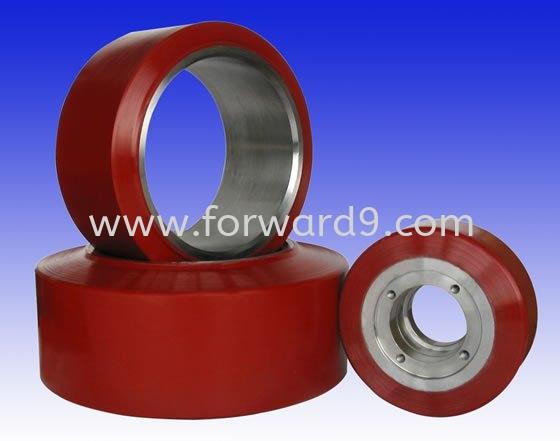 Polyurethane ( PU ) Wheel  Rollers / Wheels Polyurethane ( PU )  Polymer ( PU / Rubber etc )
