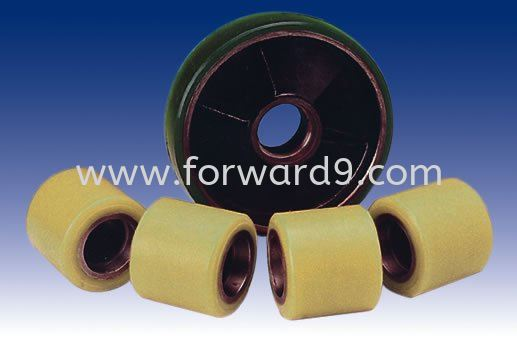 Nylon Wheel  Nylon Polymer ( PU / Rubber etc )