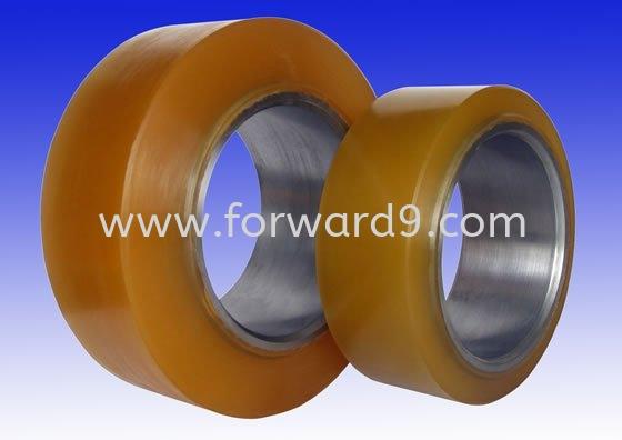 Polyurethane (PU) Wheel (High Grade)  Polyurethane ( PU )  Polymer ( PU / Rubber etc )