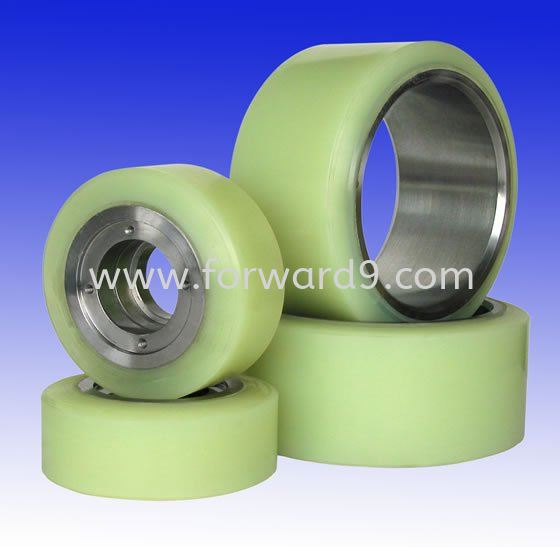 PU Reach Truck Load & Caster Wheel Reach Truck Wheel Polymer ( PU / Rubber etc )