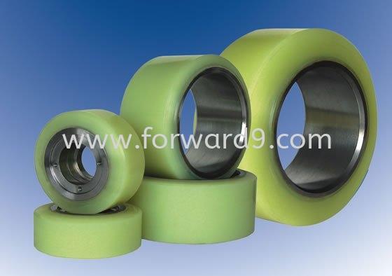 1.5ton Reach Truck Wheel ( Set )  Reach Truck Wheel Polymer ( PU / Rubber etc )