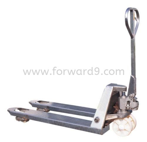 Model AC-Hot Dipped Galvanized Series Hand Pallet Truck Hot Dipped Galvanized Hand Pallet Truck Material Handling Equipment