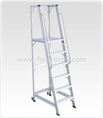 Aluminium Warehouse Step Ladder Ladder Material Handling Equipment