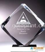 Crystal Awards Etching