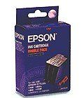 EPSON SO20025 (BLACK) = TWINPACK OF SO20025 STYLUS 400/800/1000