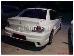 WANT TO SALE MITSUBISHI LANCER CS3 BODYKIT INGS REAR BUMPER WITH PLATE