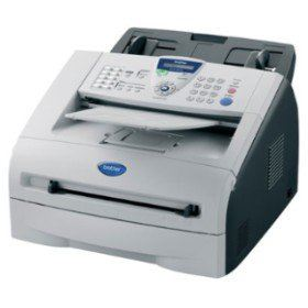 Brother FAX-2820 Compact fax machine with copying capabilities and an integrated handset