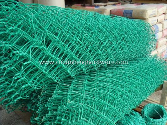 PVC Chain linked wire