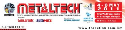 4th-8th May 2011 - Metrology products and SMT showcase on Metaltech, autoMex hall 5, booth no.5803