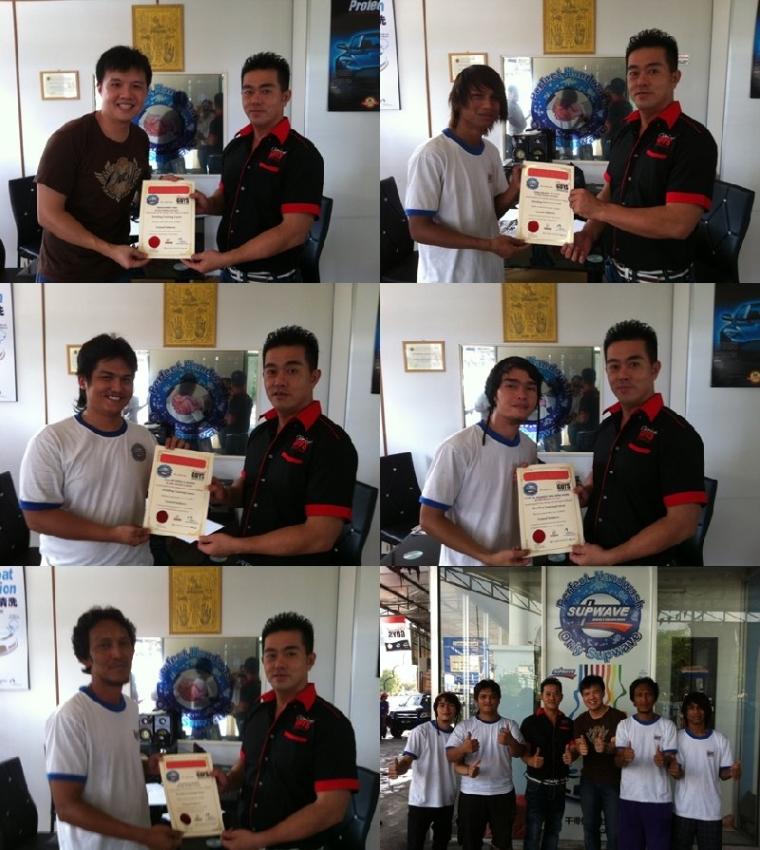Ara Damansara Franchise - Detailing Course Certificate Presentation