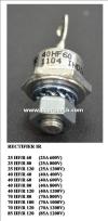 Rectifier IR 40HF/R60 (40A600V) IR Rectifier