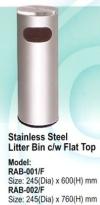 RAB-001/F Stainless Steel Bin