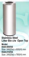 RAB-009/SS Stainless Steel Bin