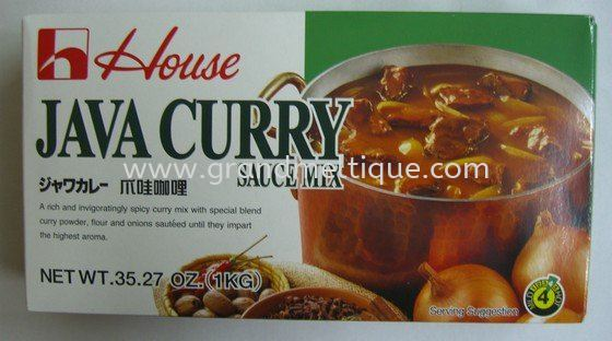 House Jave Curry 1kg日本咖喱块