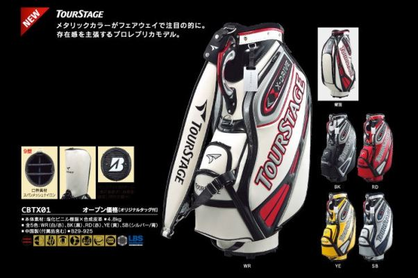Tour Stage Golf Cart Bag